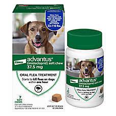 Advantus™ 23-110 Lb Dog Flea & Tick Treatment