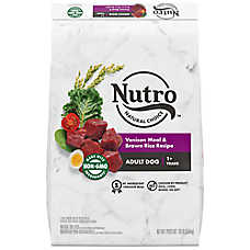 NUTRO™ Wholesome Essentials Adult Dog Food - Natural, Non-GMO, Venison Meal, Brown Rice & Oatm