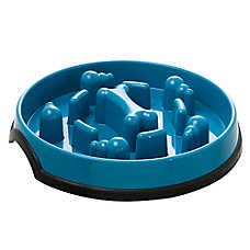 KONG® Slow Feed Puzzle Dog Bowl
