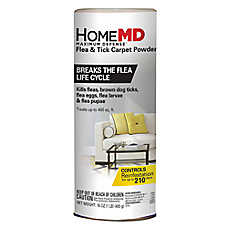 Home MD™ Maximum Defense Flea & Tick Carpet Powder