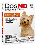 Dog MD™ Maximum Defense Under 15 Lb Dog Flea & Tick Treatment