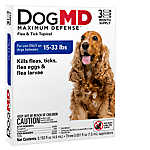 Dog MD™ Maximum Defense 15-33 Lb Dog Flea & Tick Treatment
