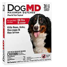 Dog MD™ Maximum Defense Over 66 Lb Dog Flea & Tick Treatment