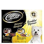 Cesar® Dinner & Breakfast 12 Pack Small Breed Dog Food