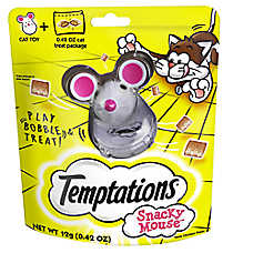 WHISKAS® TEMPTATIONS® Snacky Mouse Cat Toy &Treat