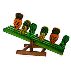 National Geographic™ Small Pet Teeter Totter Garden Chew