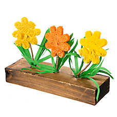 National Geographic™ Flower Wood Garden Chews Small Animal