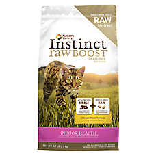 Nature's Variety® Instinct® Raw Boost Indoor Cat Food - Grain Free, High Protein, Chicken Meal