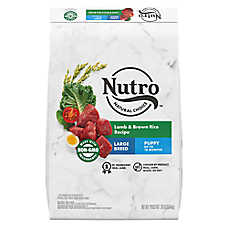 NUTRO™ Wholesome Essentials Large Breed Puppy Food - Natural, Non-GMO, Lamb & Rice