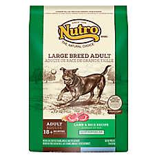 NUTRO® Large Breed Adult Dog Food - Natural, Lamb & Rice