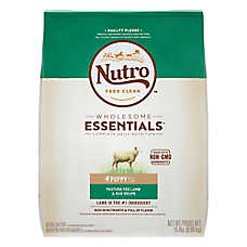 NUTRO™ Wholesome Essentials Puppy Food - Natural, Non-GMO, Lamb & Rice