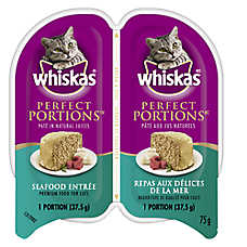 WHISKAS® Perfect Portions Seafood Pate Cat Food