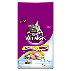 WHISKAS® Oral Care Adult Cat Food - Chicken