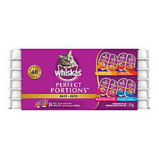 WHISKAS® Perfect Portions™ Cat Food - 24 Pack
