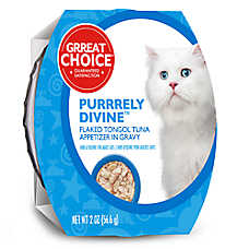 Grreat Choice® Purrrely Divine Tongol Tuna Flaked Cat Food