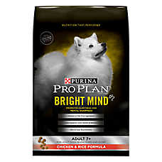Purina® Pro Plan® Bright Mind Chicken & Rice Senior Dog Food