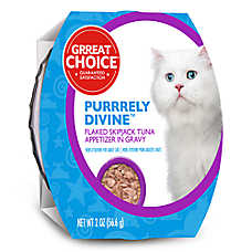 Grreat Choice® Purrrely Divine Skipjack Tuna Flaked Cat Food