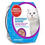 Grreat Choice® Purrrely Divine Skipjack Tuna Flaked Cat Food