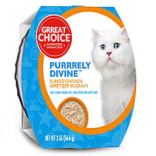 Grreat Choice® Purrrely Divine Chicken Flaked Cat Food