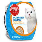 Grreat Choice® Purrrely Divine Chicken Flaked Cat Food