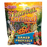 Tropical Carnival Baked Pretzel Bird Treat