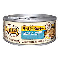 NUTRO® Breakfast Scrambles Grain Free Tuna & Egg Skillet Adult Cat Food