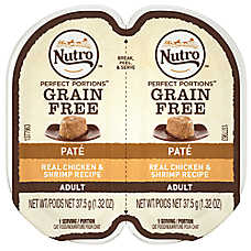 NUTRO® Perfect Portions Grain Free Chicken & Shrimp Adult Cat Food