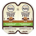 NUTRO® Perfect Portions Grain Free Chicken, Liver & Shrimp Adult Cat Food