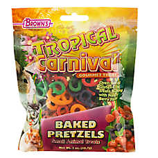 Tropical Carnival Baked Pretzel Treat
