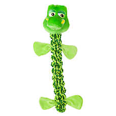Top Paw® Safari Gator Dog Toy - Crinkle