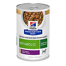 Hill's® Prescription Diet® Metabolic Weight Management Dog Food - Vegetable & Beef Stew