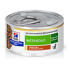 Hill's® Prescription Diet Metabolic Cat Food - Vegetable & Chicken Stew, Weight Management