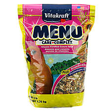 Vitakraft® Menu Vitamin-Fortified Conure Food
