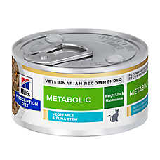 Hill's® Prescription Diet Metabolic Cat Food - Vegetable & Tuna Stew, Weight Management