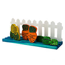 National Geographic™ Small Animal Picket Fence Garden Chew