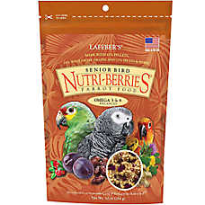Lafeber Nutri-Berries Senior Parrot Dry Food