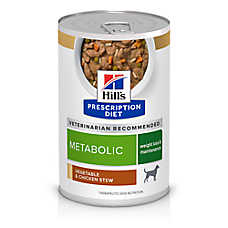 Hill's® Prescription Diet® Metabolic Weight Management Dog Food - Vegetable & Chicken Stew