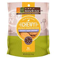 Simply Nourish™ Grain Free Chicken & Bacon Drummies Chewy Dog Treat