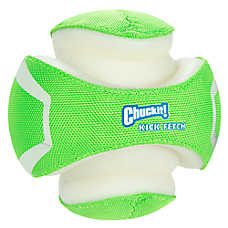 Chuckit!® Kick Fetch Ball Dog Toy - Glow in the Dark