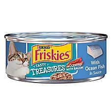 Purina® Friskies® Tasty Treasures Cat Food - Ocean Fish