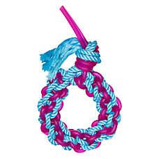 JW Pet® ElastaRope Braided Ring Dog Toy (COLOR VARIES)