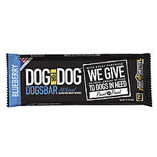 Dog for Dog Dogsbar Blueberry Natural & Gluten Free Dog Treat