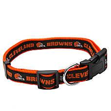 Cleveland Browns NFL Dog Collar