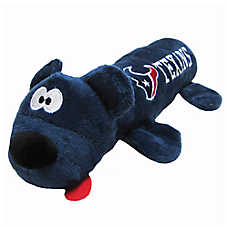 Houston Texans NFL Tube Dog Toy