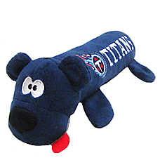 Tennessee Titans NFL Tube Dog Toy