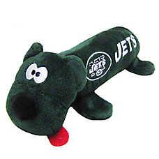 New York Jets NFL Tube Dog Toy