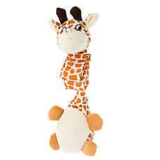 KONG® Danglers Giraffe Dog Toy - Squeaker, Crinkle