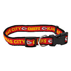 Kansas City Chiefs NFL Dog Collar