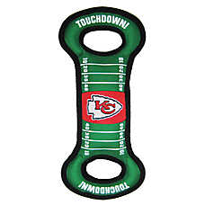 Kansas City Chiefs NFL Field Dog Toy