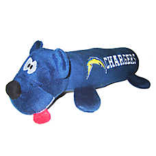 San Diego Chargers NFL Tube Dog Toy